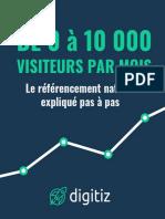 Livre blanc - De 0 à 10000 visiteurs par mois avec le référencement naturel