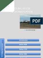 BALISES DE RADIONAVIGATION