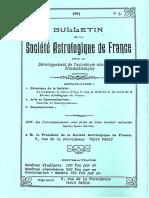 Bulletin de la SAF - N°5 5ème année 1991