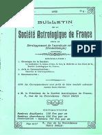 Bulletin de la SAF - N°6 6ème année 1992