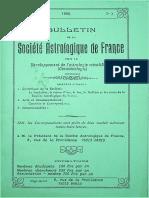 Bulletin de la SAF - N°7 1ère année 1992