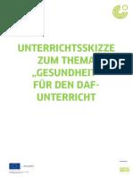 Goethe-Institut Mwnd Unterrichtsskizze Gesundheit