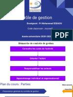 Séquence n°1_Séance n°2 _ Présentation générale du contrôle de gestion