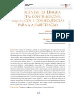 2 Psicogênese da lg escrita - texto  discussão 2013