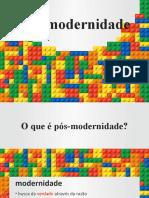 1º EM Pós-modernidade