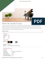 Piano de Cauda CS-150 _ - Fritz Dobbert