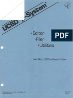 USCD p-System Part One p-System Editor