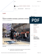 La Jornada - Siguen semáforo naranja y pacientes a la baja