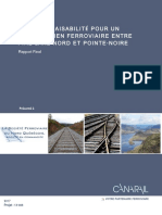 Etude Faisabilite Lien Ferroviaire Entre Fire Lake Nord Pointe-Noire