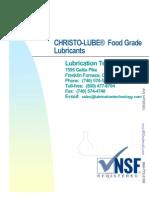 AMS - LTI - Food Grade Catalog