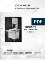 Hobart model 5216 Meat Saw