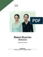 RINEKE DIJKSTRA RETRATOS.