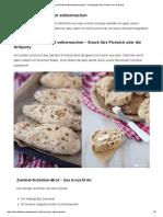Zwiebel-Schinken-Brot selbermachen - Rezeptidee fürs Grillen oder Picknick
