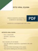 ARTERITIS VIRAL EQUINA EXPO