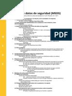 Multitac Sync Block Grafitada  (MSDS)