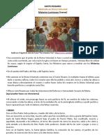 Misterios Luminosos en DV - PDF