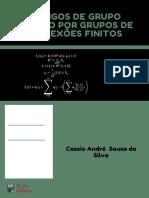 CÓDIGOS DE GRUPO GERADO POR GRUPOS DE REFLEXÕES FINITOS