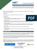 Carpeta Productos y Servicios TECHNET vc