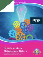 Guia  1-3 periodo Matematicas 8