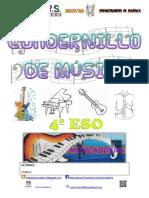 Cuadernillo Música Completo 4º Eso 2019.20