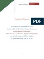 DOGMATICA si DOGMATISM (I)
