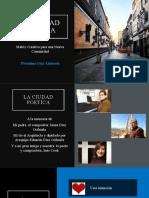 La Ciudad Poética Como Matriz Creativa de Una Nueva Comunidad (1)