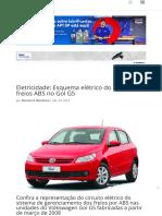 Eletricidade_ Esquema elétrico do sistema de freios ABS no Gol G5 _ Revista O Mecânico