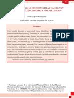 2010 Articulo Actitudes Hacia La Homosexualidad Masculina y Femenina en Jovenes Adolescentes Limeños