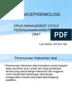Kuliah 1 Cara Penentuan Kebutuhan Obat