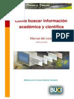 Lectura obligatoria Mod.2 Cómo buscar información académica y científica