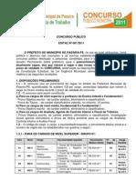 EDITAL 001_Concurso_Passira_2011