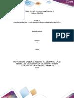 Plantilla de Trabajo Unidad 2 - Fase 3 - Multimodalidad Educativa