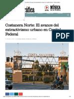 Costanera Norte_ El avance del extractivismo urbano en Capital Federal – Radio Gráfica