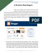 Tutorial Bikin Blog