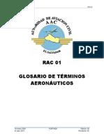 RAC-01 (Rev.05) Términos Aeronáuticos