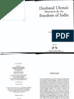 Deoband Ulamas Movement India