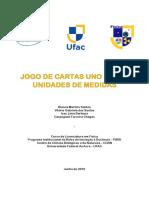 Produto Educacional - Jogo de Cartas UNO Sobre Unidades de Medidas