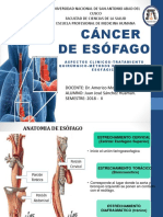 CANCER DE ESÓFAGO