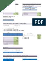 Formulas Teste Hipoteses