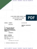 Barnett v. Bac Home Loan Servicing LP, Federal National Mortgage Association Fka Fannie Mae, Rec on Trust Co