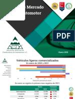 REPORTE MERCADO AUTOOTRIZ MÉXICO, ENERO 2021