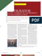 Balao, A. Restaurador, luces y sombras de una profesión. 2008