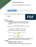 Autocorrection des Activités 3 et 4