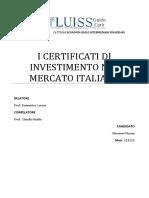 i certificati
