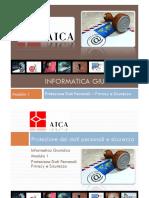 Guida Rapida Modulo 1 - Protezione Dati Personali, Privacy e Sicurezza 2.0