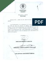Corte Suprema de Justicia - auto Deyanira Gómez