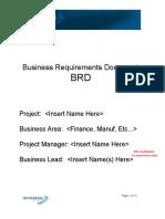 Requirements Doc - BRD
