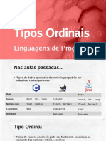 LIP18 - Tipos Ordinais