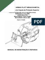 Platt MR550 _ Manual de Manutenção