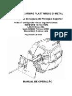 Platt MR550 _ Manual Do Operador